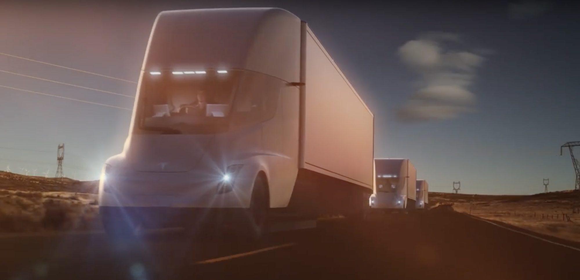 电动卡车之争 戴姆勒称特斯拉Semi违背物理规律