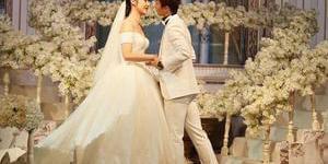 尹鸿博大婚 与爱妻拥吻羡煞旁人