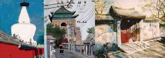 不会画画的作家不是好艺术家 老舍笔下的北京城