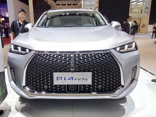 2017上海车展:WAY Pi4 VV7c正式亮相