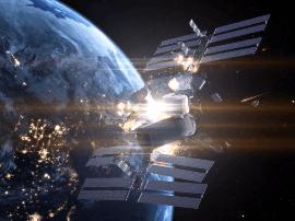 """近地轨道将""""塞满""""微型卫星,科学家预警连环碰撞"""
