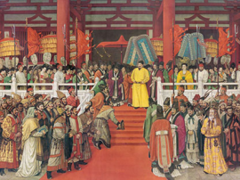 《贞观盛会》 实现历史真实与艺术真实的统一