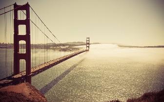 旧金山金门大桥 近代桥梁工程一项奇迹