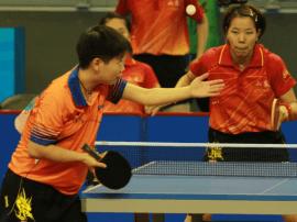 河北乒乓女队获第十三届全运会团体第五
