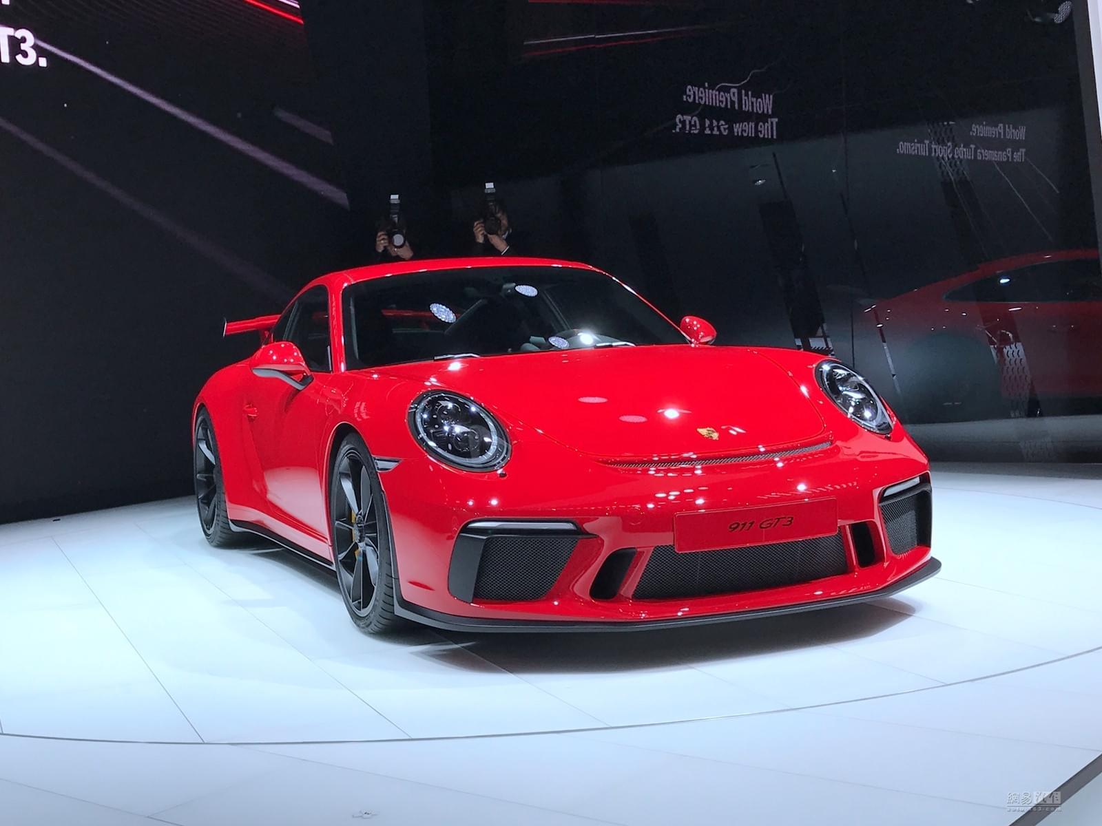 2017日内瓦车展:保时捷新款911 GT3发布