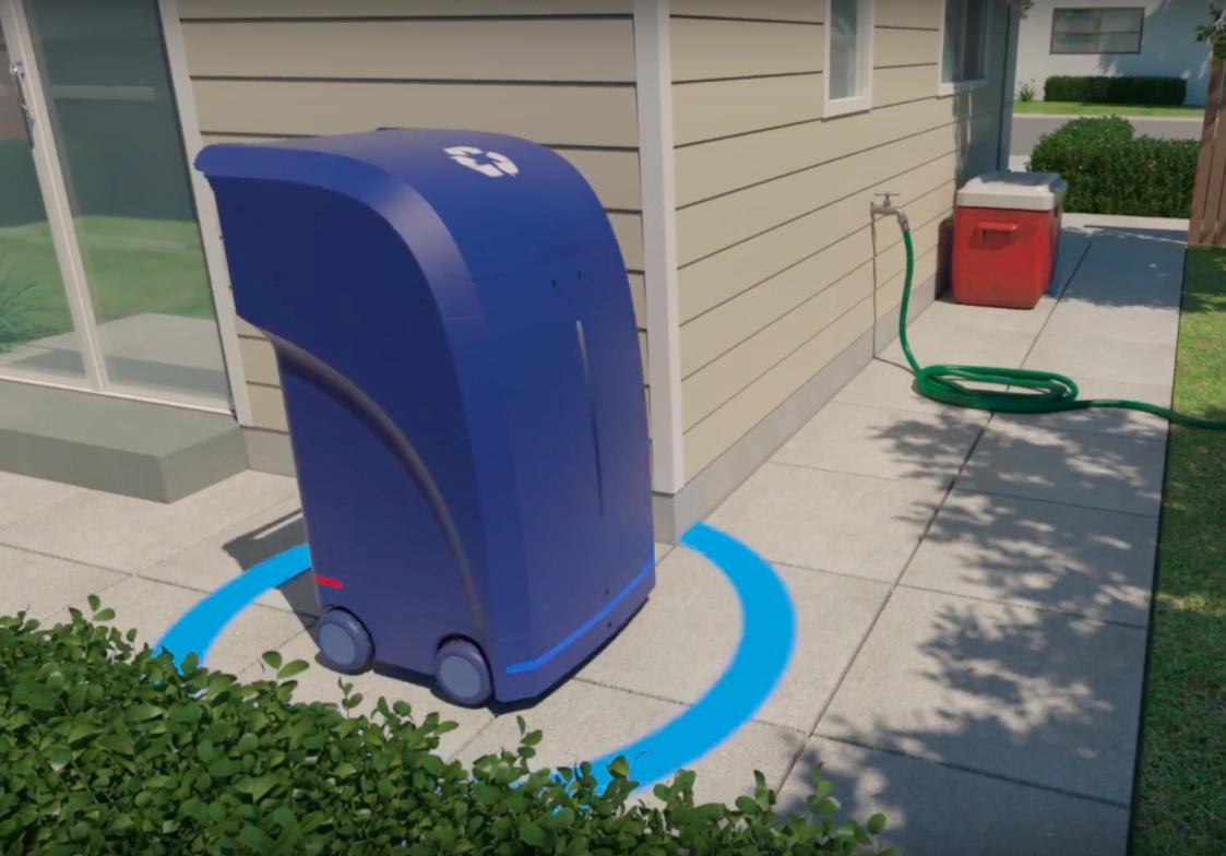 无人驾驶垃圾箱来了:走街串巷定时汇合垃圾车
