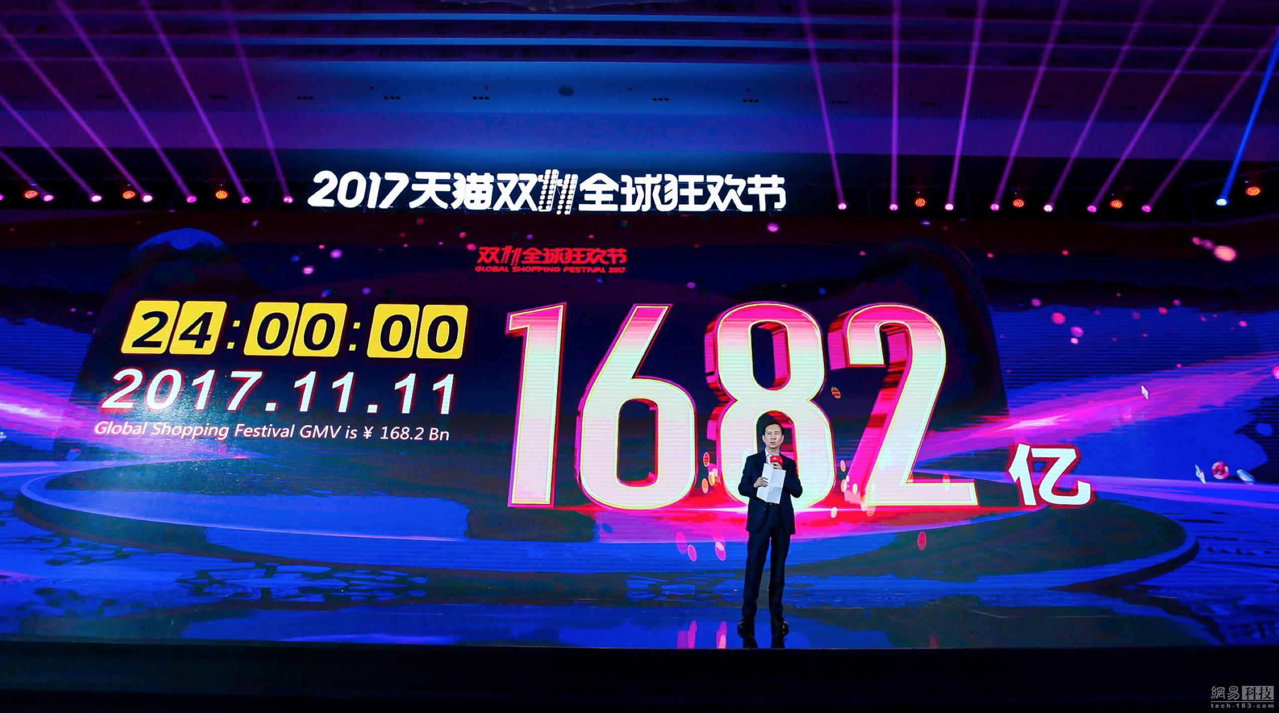 阿里张勇:希望双11带动中国制造及创造走向世界