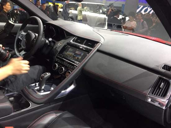 GLA小心了 奇瑞捷豹E-PACE亮相北京车展