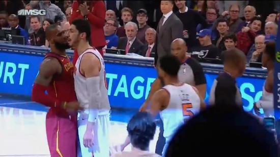 【影片】衝突!詹皇與尼克新秀互噴 Kanter上前差點動手