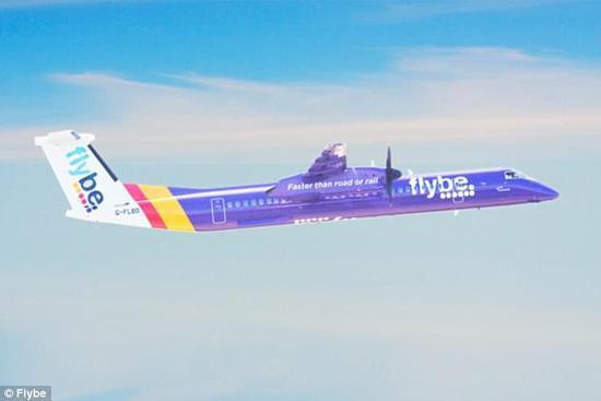 资料图:flybe客机