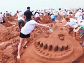 青岛国际沙滩节明天将开幕 带来丰富文体活动