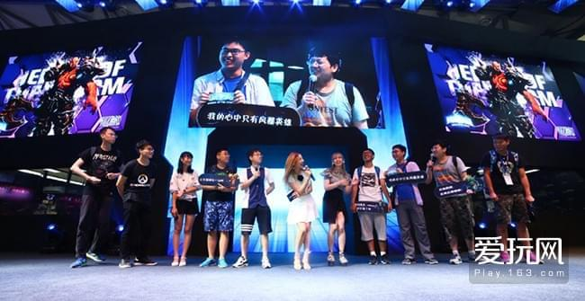 ChinaJoy次日暴雪展台精彩不断!War3新版全球首秀