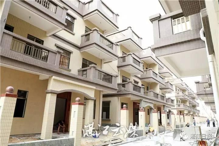 湛江现高颜值别墅群 都是农民的公寓