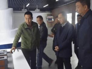 运城地震局局长武胜强调研防震减灾教育馆建设
