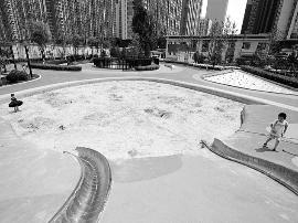 龙潭公园儿童活动乐园开放  占地面积2559平方米