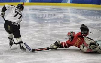 2018全国冰球锦标赛 石家庄华星冰球队首战