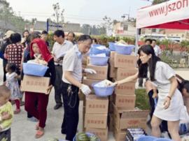 泰州公益志愿者:赴盐城抢险救灾 急送紧缺物资