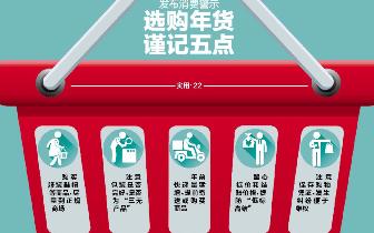 太原12315发布消费警示:选购年货谨记五点