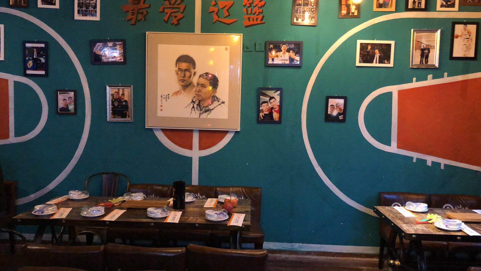 三郎主题餐厅内景