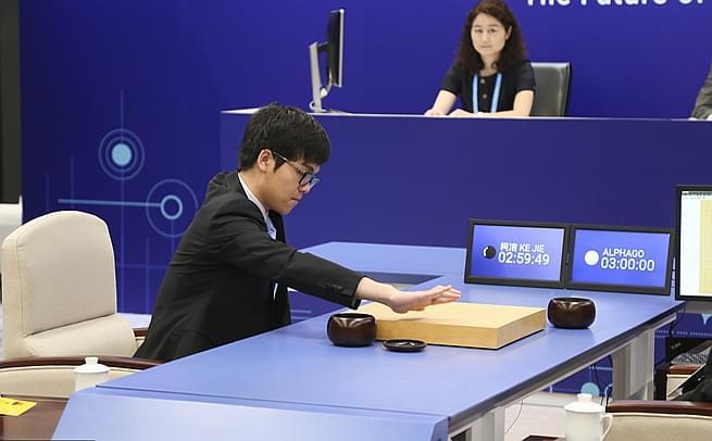 人机大战Ⅱ揭幕 柯洁执黑战AlphaGo