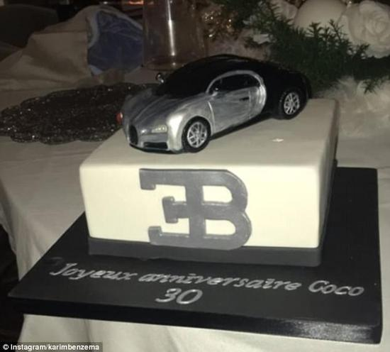 潮州劳力士回收本泽马三十而立:跑车模型蛋糕过生日  兄弟泰森送祝福