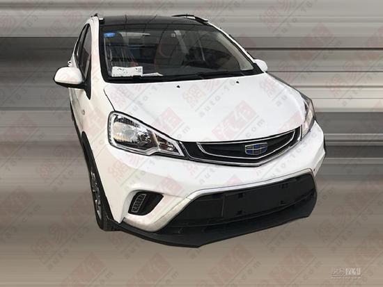换装1.5L发动机 远景X1新车型实车首曝