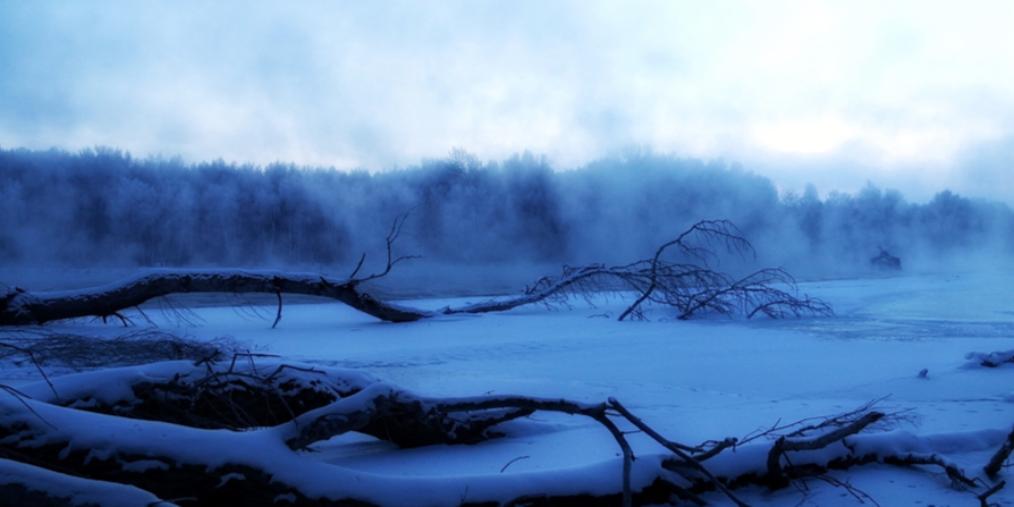清晨的冲乎尔 雾气缭绕宛如仙境