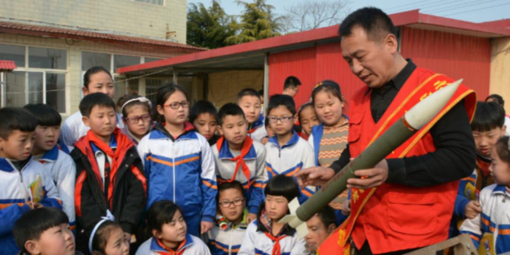 """邯郸:中小学生""""气象日""""学气象知识"""