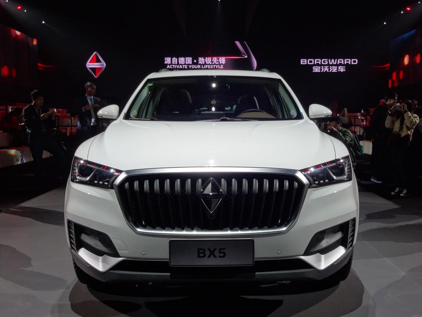 德国品质紧凑SUV只要14.98万 宝沃BX5上市