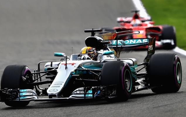 F1比利时站汉密尔顿力压维特尔夺冠