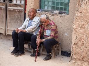情人节里农村老人们的情与爱  让你感动和羡慕