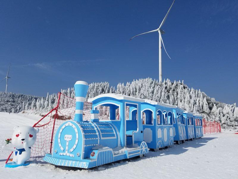 冰雪童话迎新年 南天湖国际滑雪场滑雪享8.8折优惠