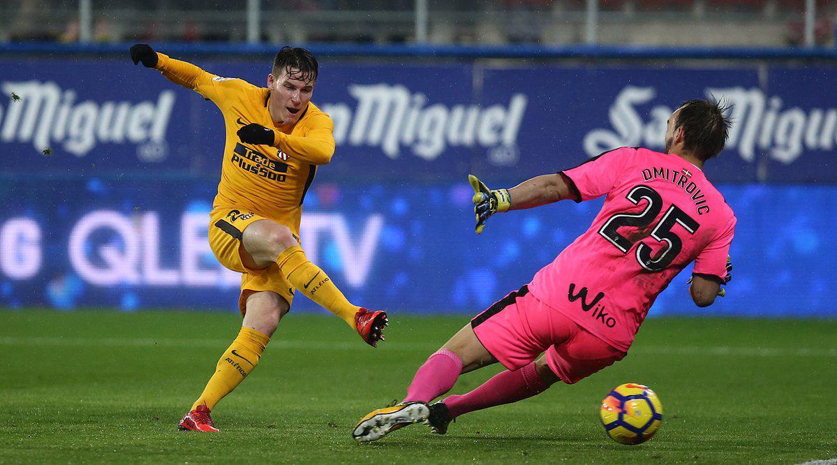 西甲-格子助攻加梅罗破门 马竞1-0领先皇马10分