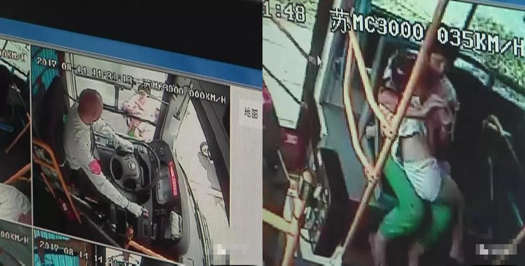 """女孩不慎摔伤 公交司机""""飞车""""载送至医院"""