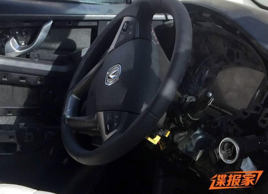 基于CS75的7座车  欧尚全新SUV谍照首曝