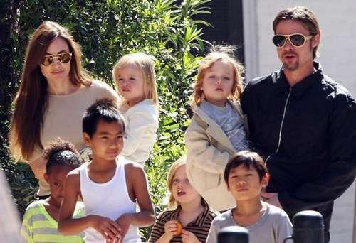 """""""好莱坞第一夫妇""""离婚案判决出炉:朱莉获6个孩子抚养权"""