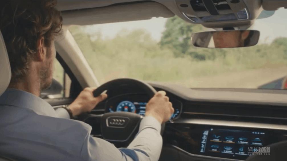 自动泊车/轻混动系统 奥迪A8最新预告片
