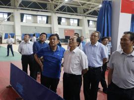 国家体育总局领导班子调研山西省体育中心