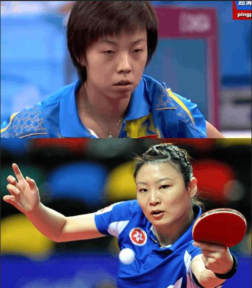 张怡宁曾经败给姜华珺4次。