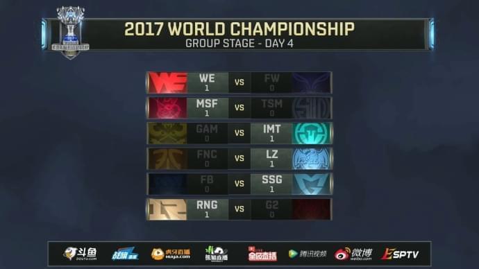 看看我们全华班!LOL全球总决赛RNG豪取三连胜