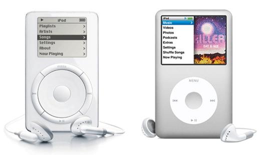 乔纳森设计的iPod是苹果最畅销的产品之一,自乔布斯回归苹果后该产品帮助公司赚得盆满钵满。