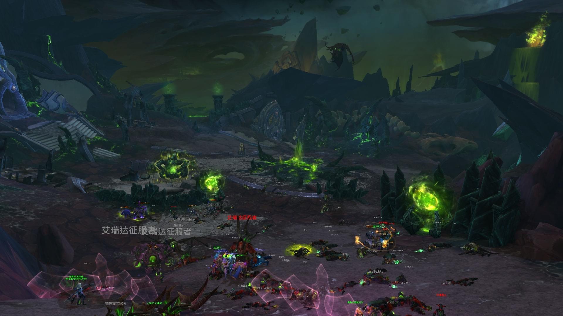 魔兽测试服已更新7.3版本:将进军阿古斯