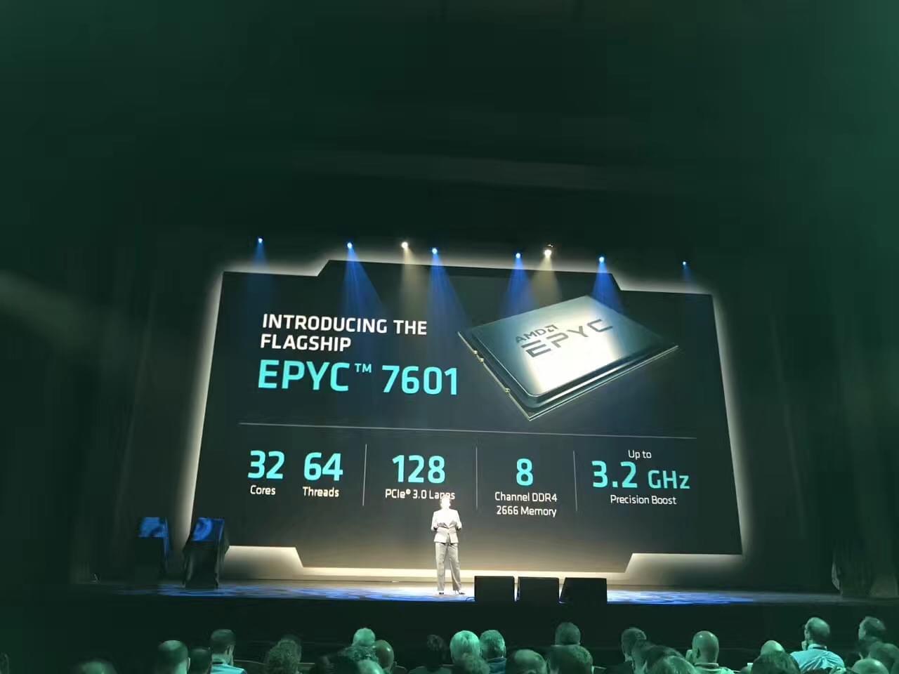 AMD重回服务器市场,发EPYC霄龙数据中心处理器