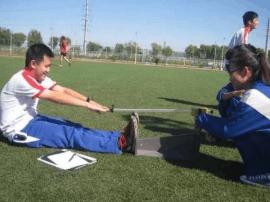 长春中考体育测试临近 初三老师支招