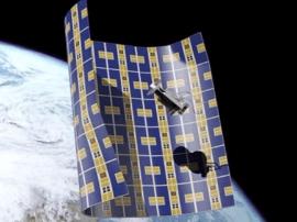 NASA投资超薄纸张式飞行器:用于清扫太空垃圾