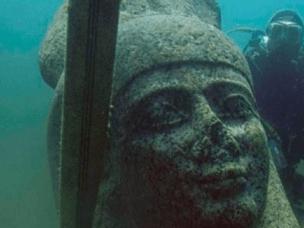 男子水下考古 发现海底千年古城秘密