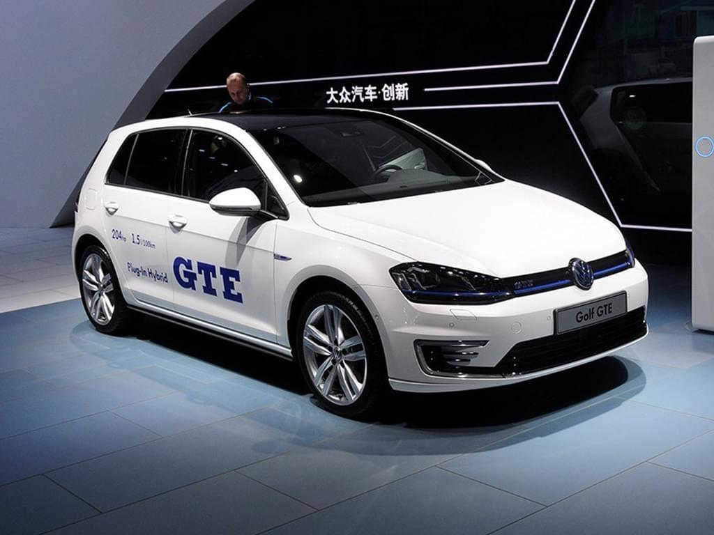 插电混合动力 大众将推高尔夫GTE性能版