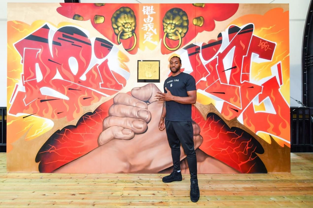 JORDAN品牌運動員科懷-倫納德首次到訪大中華地區