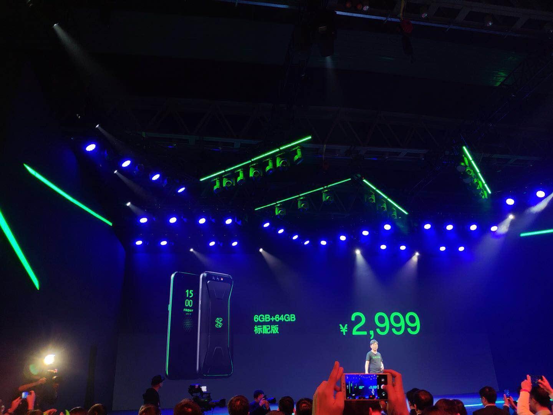 小米投资的黑鲨游戏手机发布 售价2999元起的照片 - 3