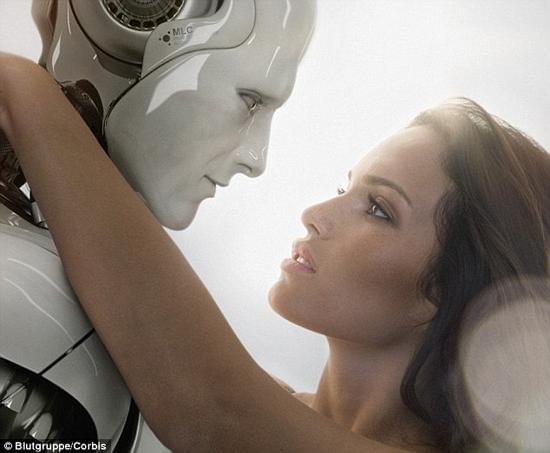 研究显示1/3人愿与机器人约会 1/5愿与机器人性爱的照片 - 1